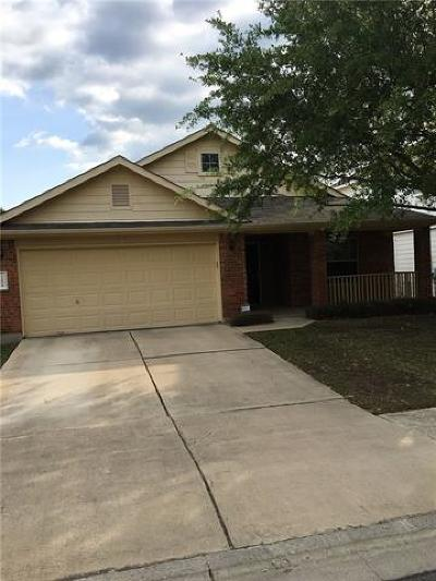Hays County, Travis County, Williamson County Single Family Home Pending - Taking Backups: 12608 Paloma Blanca Way