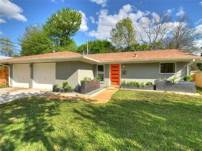 Austin Single Family Home Pending - Taking Backups: 8111 Parkdale Dr