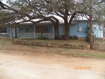 Burnet Single Family Home For Sale: 206 Helenita