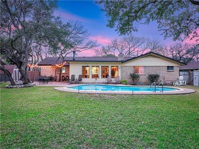 Round Rock Single Family Home For Sale: 1305 Bluff Dr