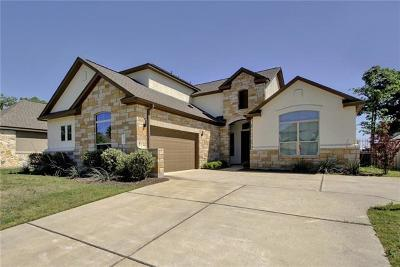 Cedar Park Single Family Home Pending - Taking Backups: 810 Wilson Ranch Pl