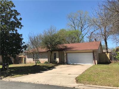 Austin Single Family Home Pending - Taking Backups: 1721 Cricket Hollow Dr