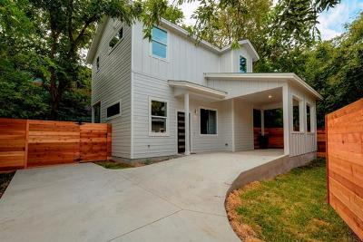 Austin Single Family Home For Sale: 2611 Euclid Ave #B