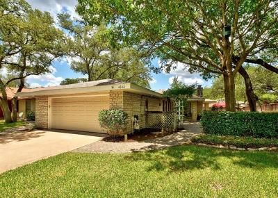 Austin Single Family Home For Sale: 4606 Cap Rock Dr