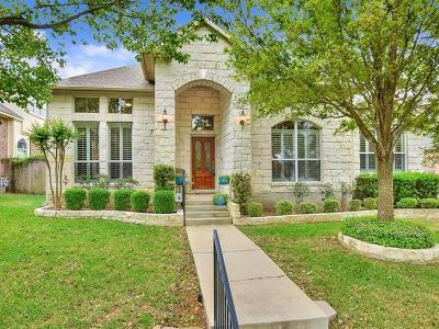 Cedar Park Single Family Home For Sale: 2808 Cashell Wood Dr