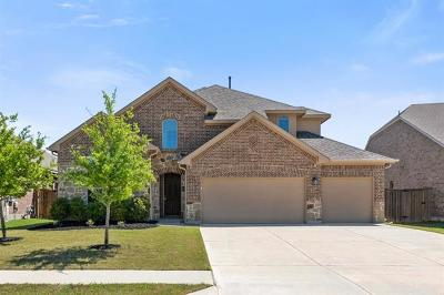Round Rock Single Family Home For Sale: 2713 Belicia Ln