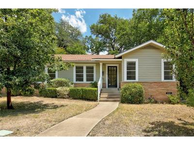 Travis Heights Single Family Home For Sale: 1104 Gillespie Pl