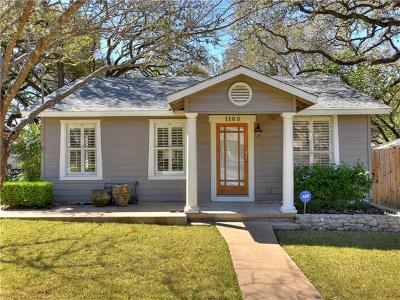 Austin TX Single Family Home Pending - Taking Backups: $849,900