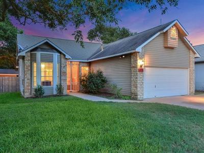Cedar Park Single Family Home For Sale: 610 Pomegranate Pass