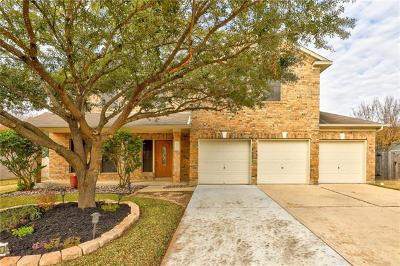 Cedar Park Single Family Home For Sale: 1315 Dove Haven Loop