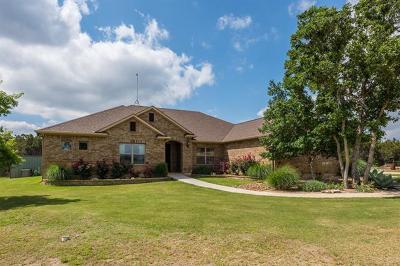 Burnet Single Family Home For Sale: 1301 Fox Run