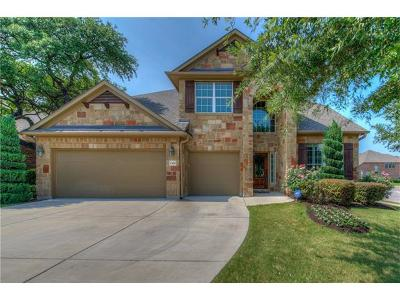 Cedar Park Single Family Home Pending: 1300 Rimstone Dr