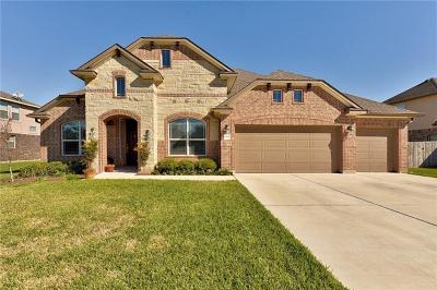 Hutto Single Family Home For Sale: 1102 Enclave Way