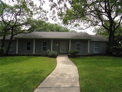 Austin Single Family Home For Sale: 7101 Spurlock Dr