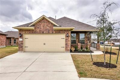 Round Rock Single Family Home For Sale: 3305 Donatello