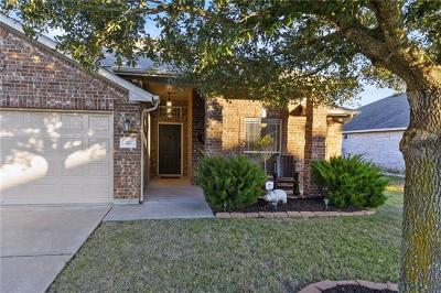 Hutto Single Family Home For Sale: 310 Lone Star Blvd