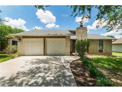 Round Rock Single Family Home Pending - Taking Backups: 900 Fairway Green Cv