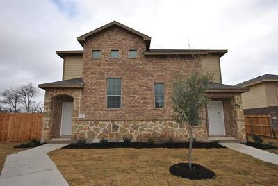 Georgetown Condo/Townhouse For Sale: 142 Sierra Rose Loop