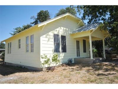 Georgetown Single Family Home Pending - Taking Backups: 907 W 10th St