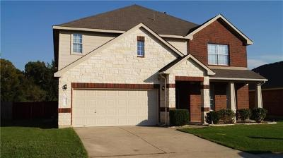Elgin Single Family Home For Sale: 12617 Waynespur Ln