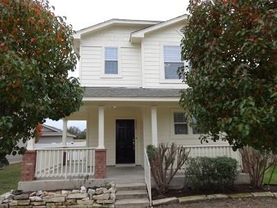Cedar Park Rental For Rent: 1511 Davis Mountain Loop