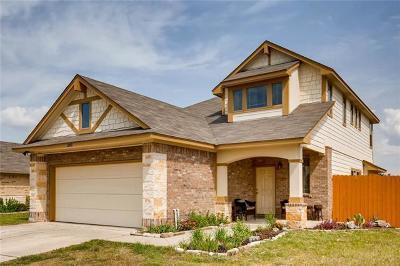 Manor Single Family Home Pending - Taking Backups: 12801 Snow Ln