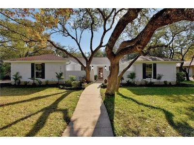 Single Family Home For Sale: 9818 Mandeville Cir