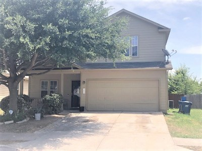 Manor Single Family Home For Sale: 12017 Bastrop St