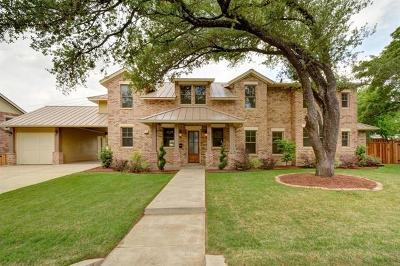 Austin Single Family Home For Sale: 3412 Happy Hollow Ln