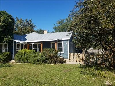 Burnet County Single Family Home For Sale: 215 E Moeller St