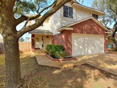 Round Rock Single Family Home For Sale: 3811 Top Rock Ln