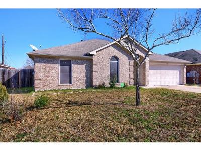 Taylor Single Family Home For Sale: 2802 Zachary Ln