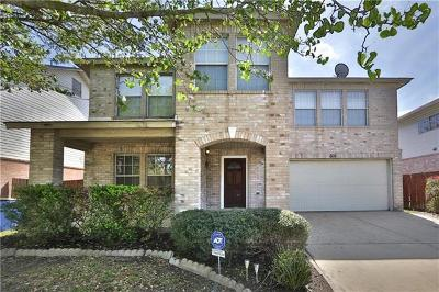 Pflugerville Single Family Home For Sale: 505 Catumet Dr