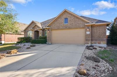 Pflugerville Single Family Home For Sale: 2001 Heritage Well Ln