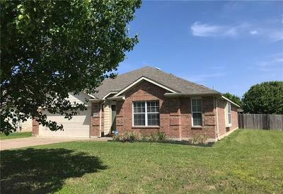 Hutto Single Family Home Pending - Taking Backups: 6017 Lone Star Ct