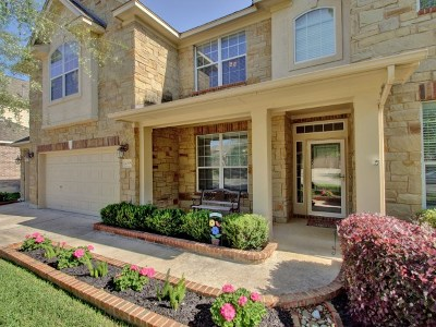 Round Rock Single Family Home For Sale: 4295 Ridgebend Dr