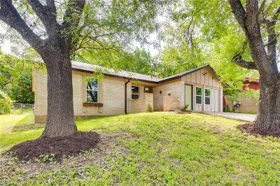 Austin Single Family Home Pending - Taking Backups: 1341 Warrington Dr