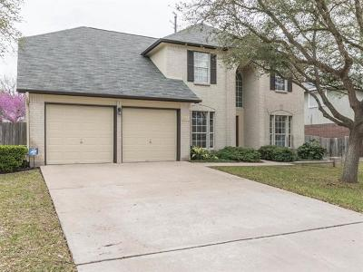 Pflugerville Single Family Home Pending - Taking Backups: 610 Wagon Wheel Trl
