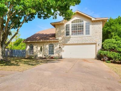 Pflugerville Single Family Home For Sale: 710 Wagon Wheel Trl