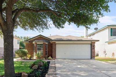 Round Rock Single Family Home For Sale: 1513 Thibodeaux Dr