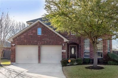 Pflugerville Single Family Home For Sale: 2101 Hayfield Sq