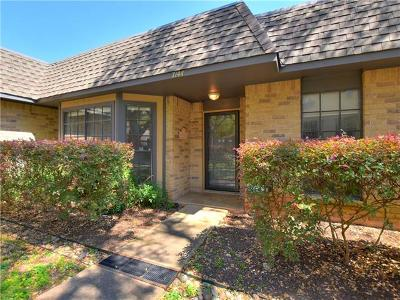 Travis County Condo/Townhouse For Sale: 7144 Chimney Cors #B