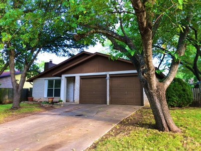 Austin TX Single Family Home For Sale: $312,000