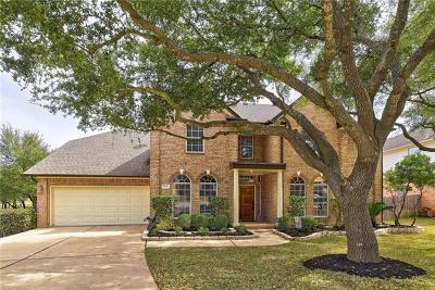 Round Rock Single Family Home Pending - Taking Backups: 18017 Rosebud Pl