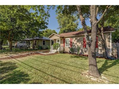 Travis County Single Family Home Pending - Taking Backups: 404 Denson Dr