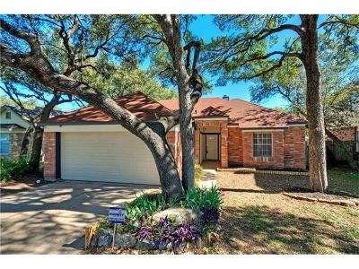 Cedar Park Single Family Home Pending - Taking Backups: 606 Timbergrove Ct