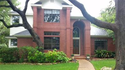 Hays County, Travis County, Williamson County Single Family Home For Sale: 7401 Mifflin Kenedy Ter