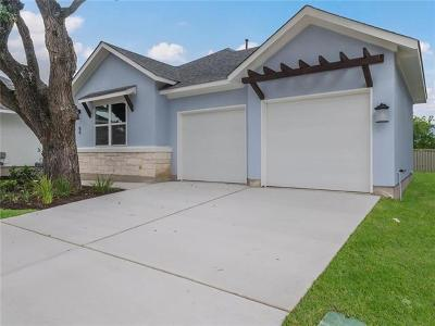 Cedar Park Single Family Home For Sale: 13701 Ronald Reagan Blvd. Blvd #66