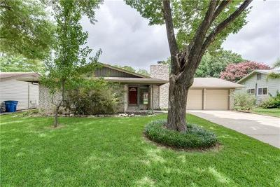 Single Family Home Active Contingent: 8004 Parkdale Dr