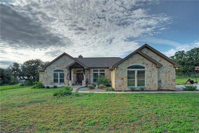 Dripping Springs TX Single Family Home For Sale: $619,000